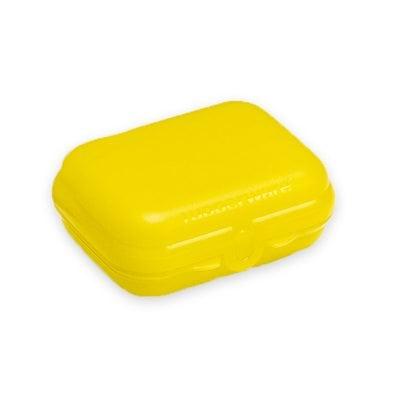 Ланч бокс желтый Tupperware