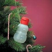 Эко бутылка Снеговик