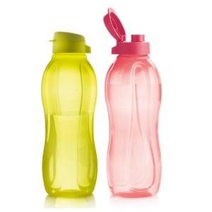 Набор Эко бутылок 1,5 л с клапаном