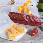 Контейнер салями и сырница